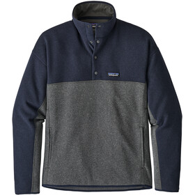 Patagonia LW Better Marsupial Felpa Uomo, forge grey/navy blue